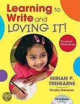 Learning To Write And Loving It! Preschool - Kindergarten