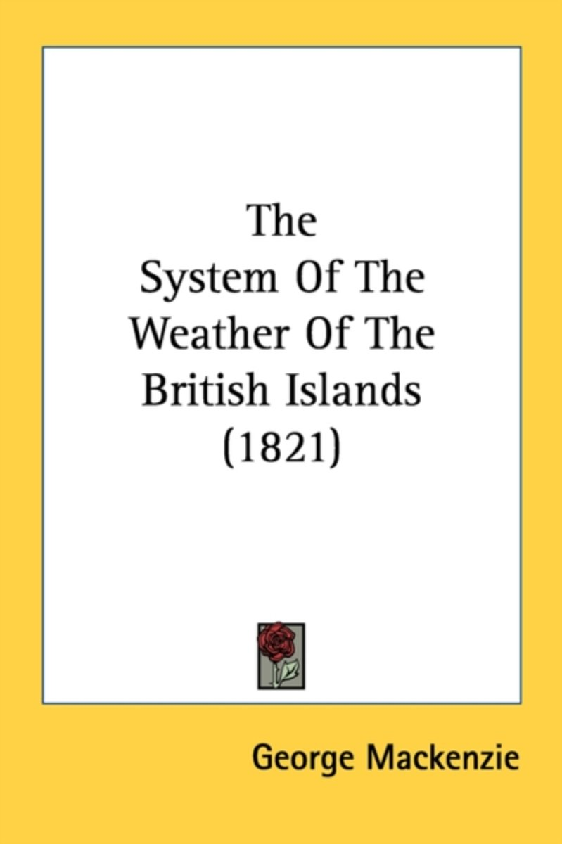 The System of the Weather of the British Islands (1821)