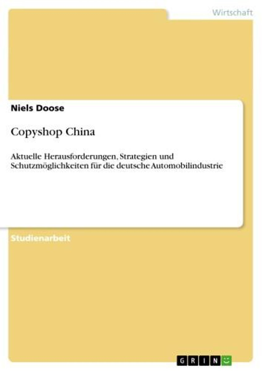 Copyshop China