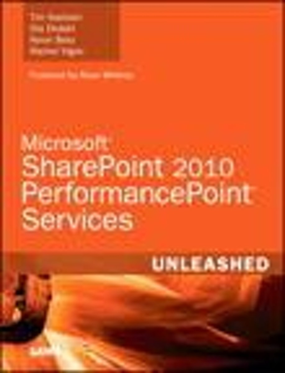 Microsoft Office PerformancePoint Services 2010 Unleashed