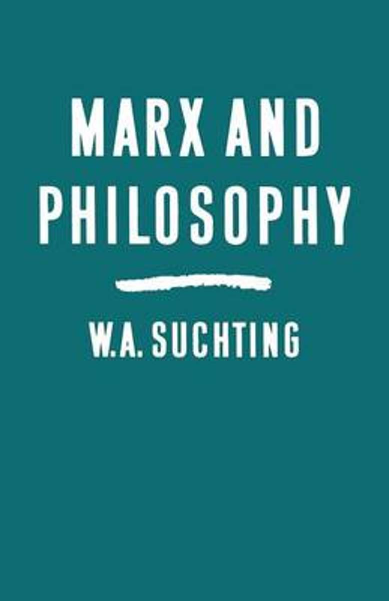 Marx and Philosophy