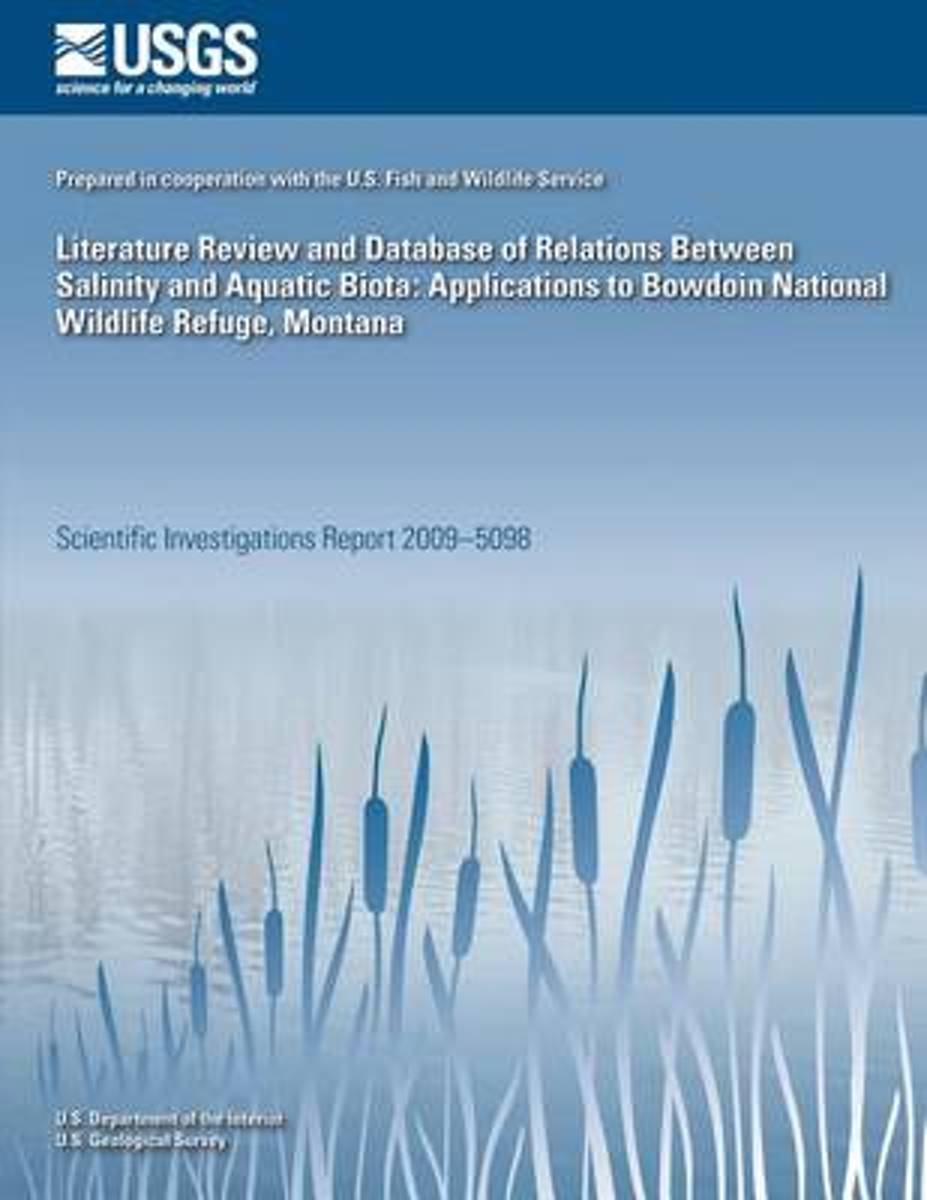 Literature Review and Database of Relations Between Salinity and Aquatic Biota