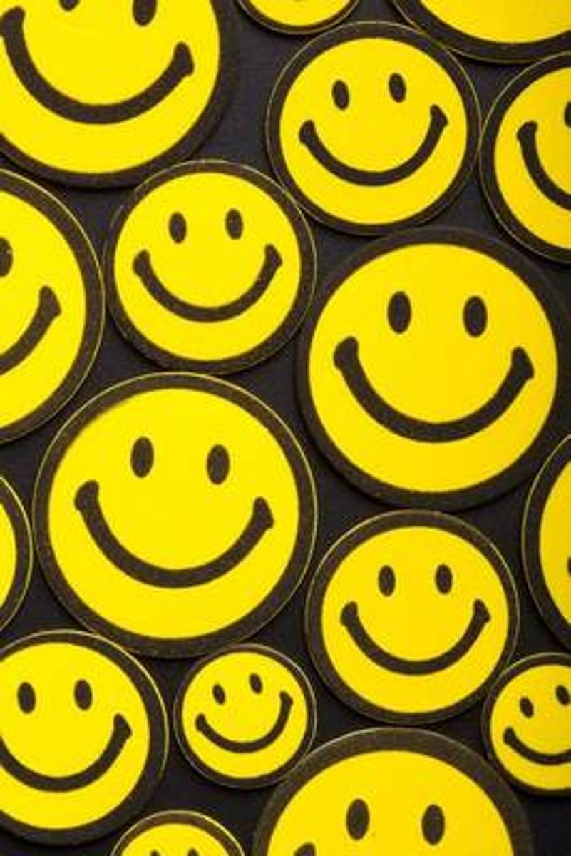 The Smiley Face Journal - Be Happy!