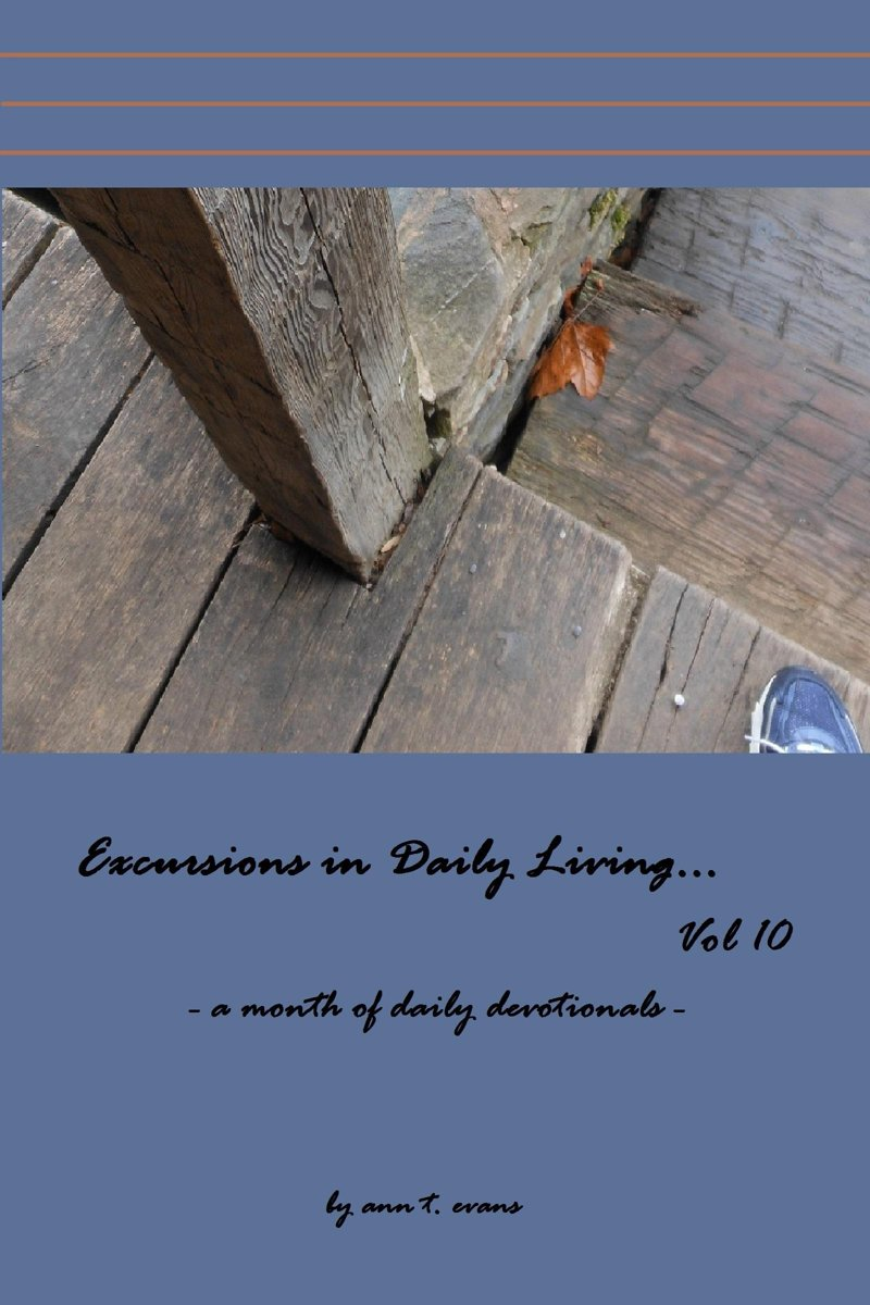Excursions in Daily Living... Vol 10: Bible devotionals