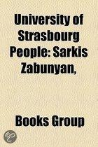 University Of Strasbourg People: Sarkis Zabunyan,