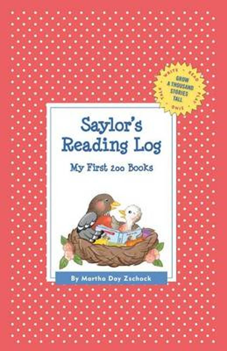 Saylor's Reading Log