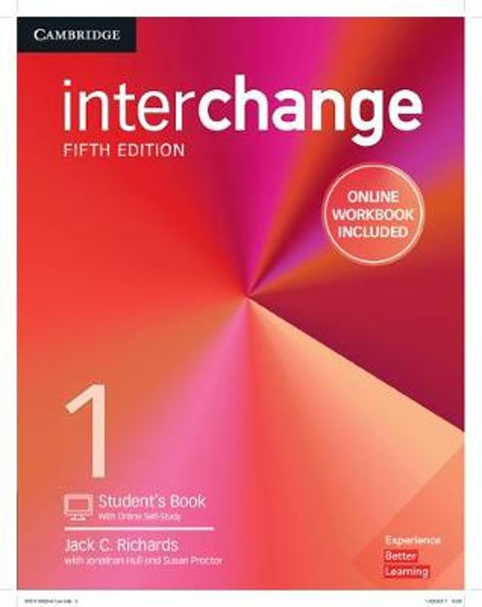 Interchange Level 1 Student's Book with Online Self-Study and Online Workbook