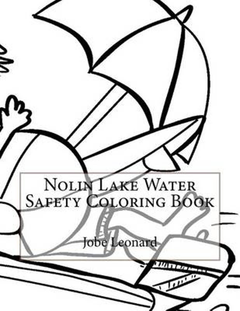 Nolin Lake Water Safety Coloring Book