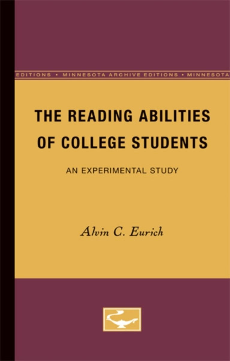 The Reading Abilities of College Students