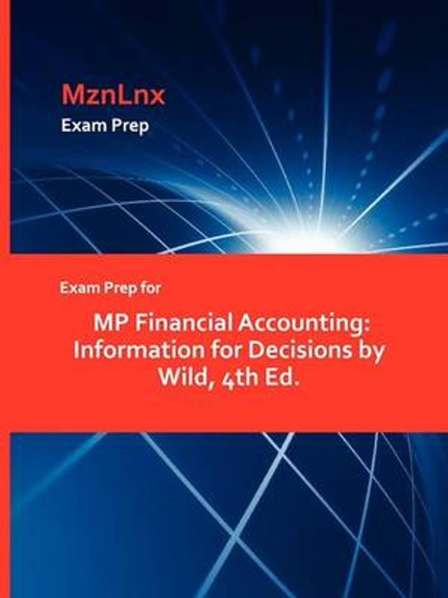 Exam Prep for MP Financial Accounting