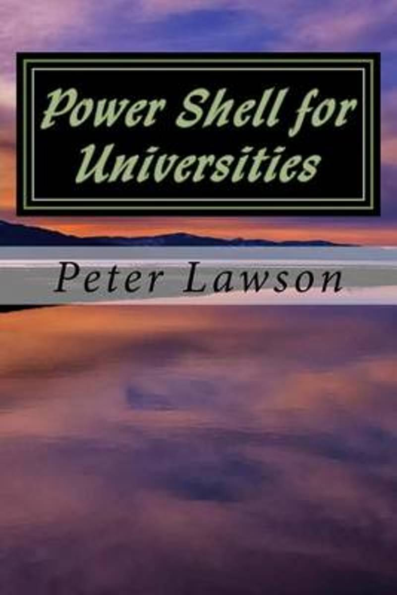 Power Shell for Universities