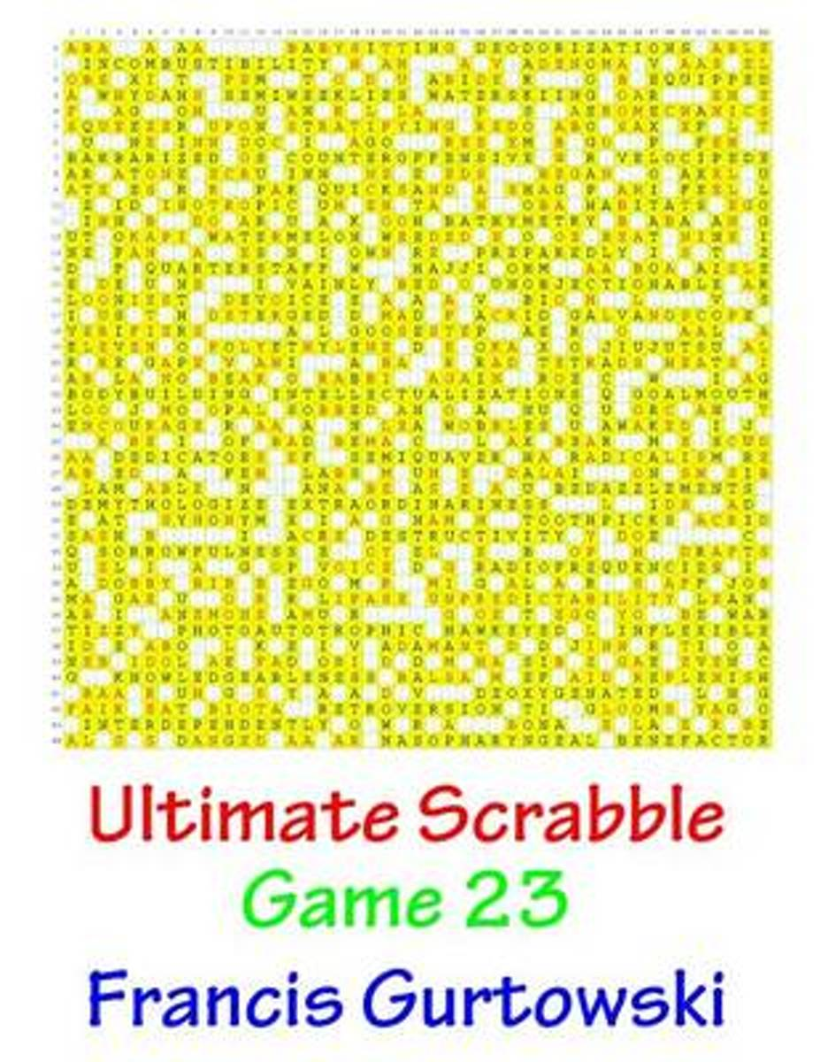 Ultimate Scabble Game 23