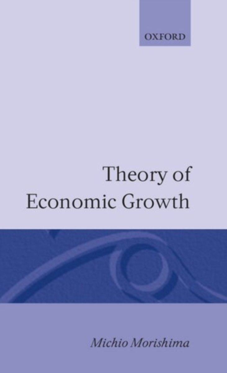 THEORY OF ECONOMIC GROWTH C
