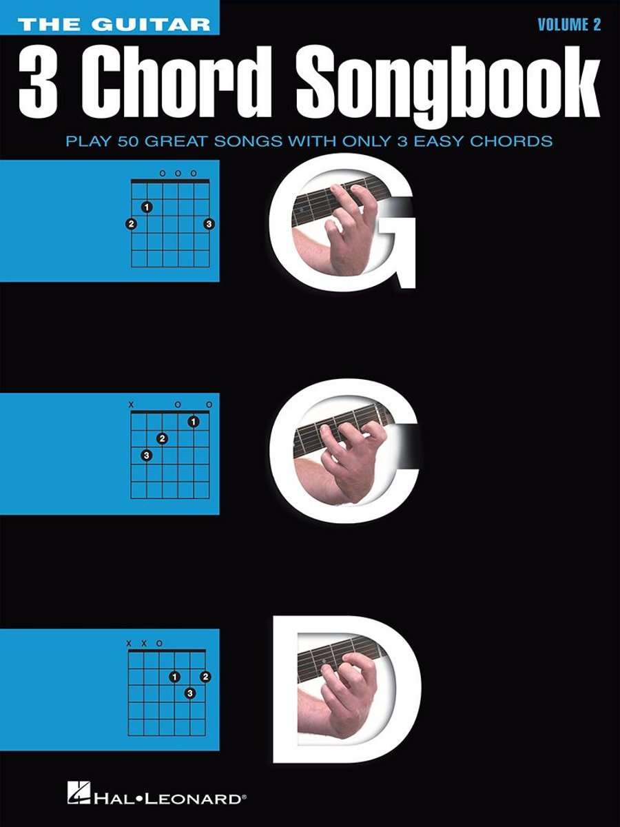 The Guitar Three-Chord Songbook - Volume 2 G-C-D