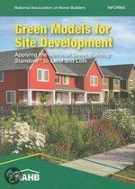 Green Models For Site Development: Applying The National Green Building Standard To Land And Lots