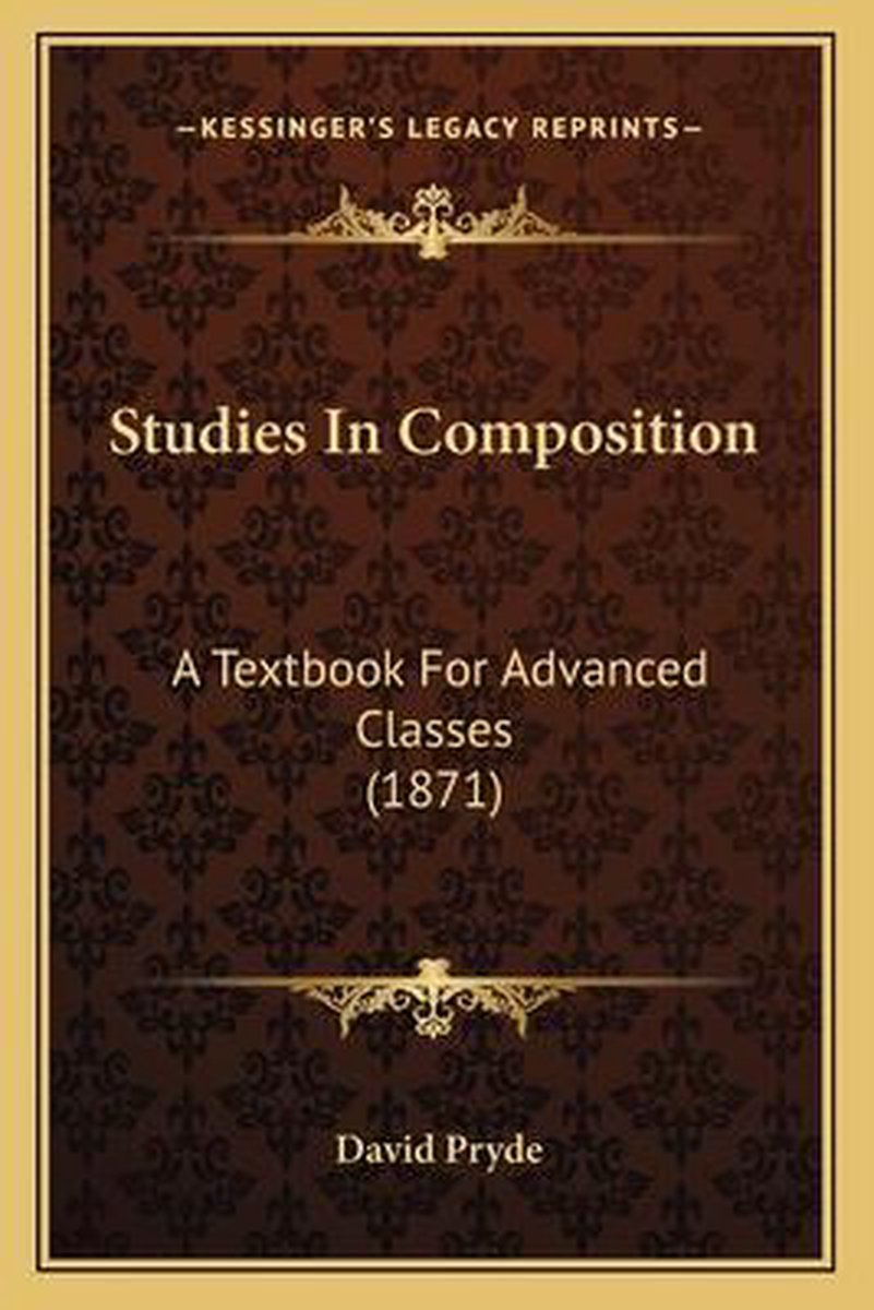 Studies in Composition Studies in Composition