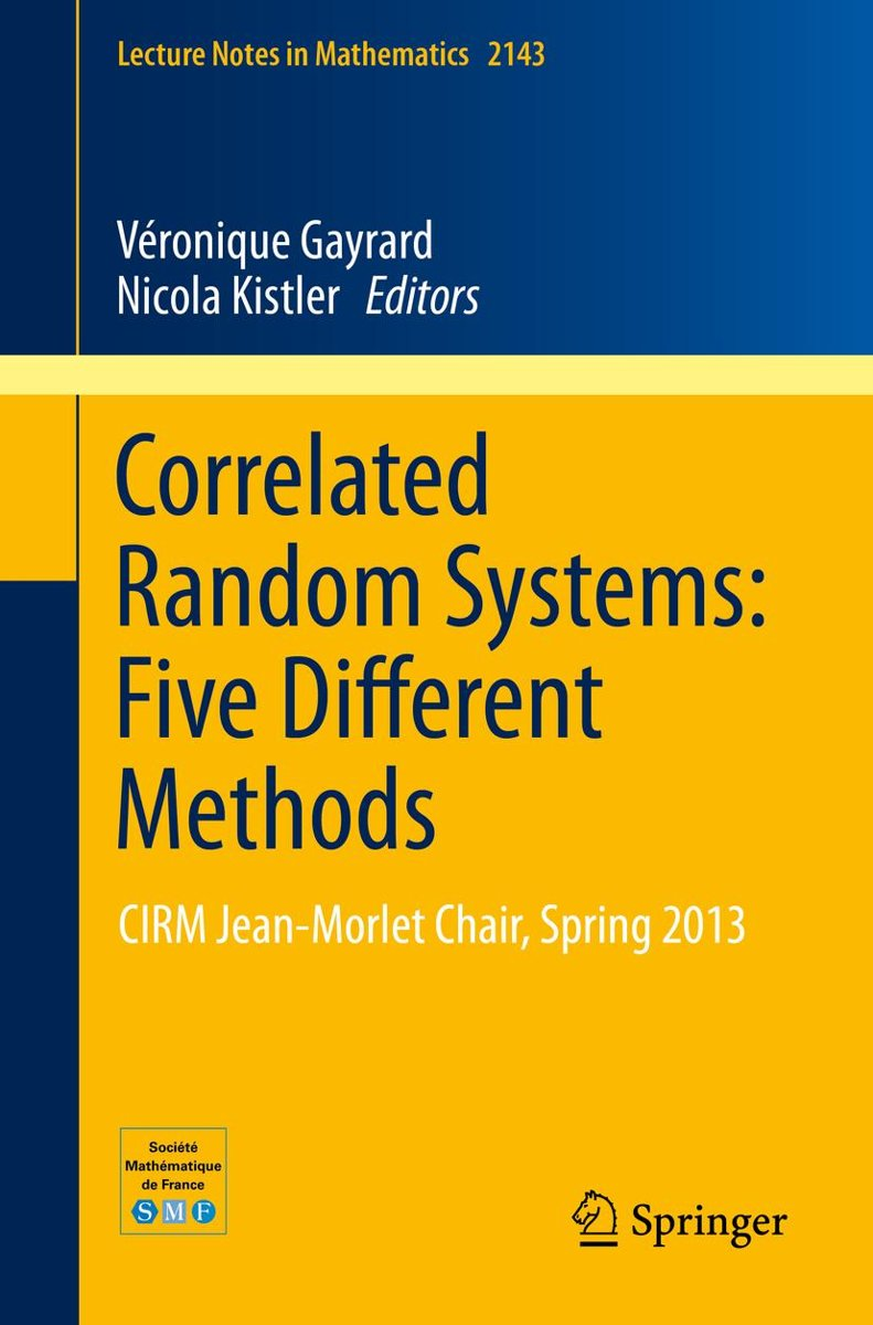 Correlated Random Systems: Five Different Methods