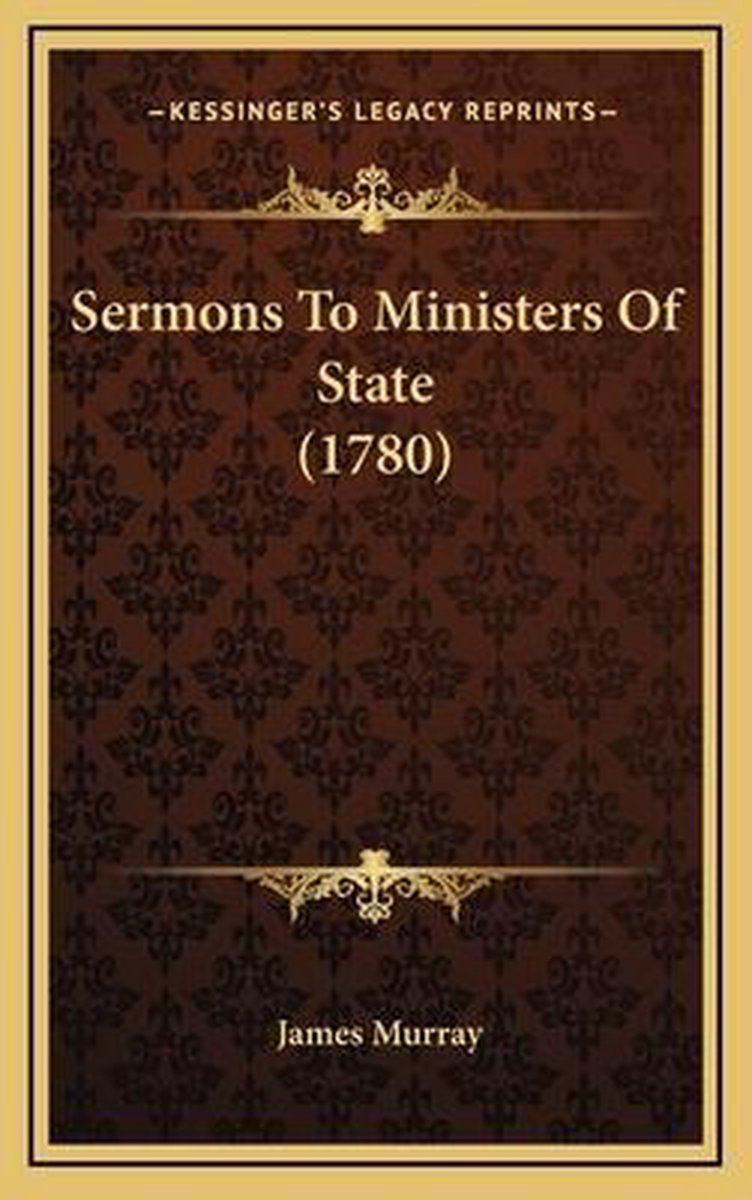 Sermons to Ministers of State (1780)