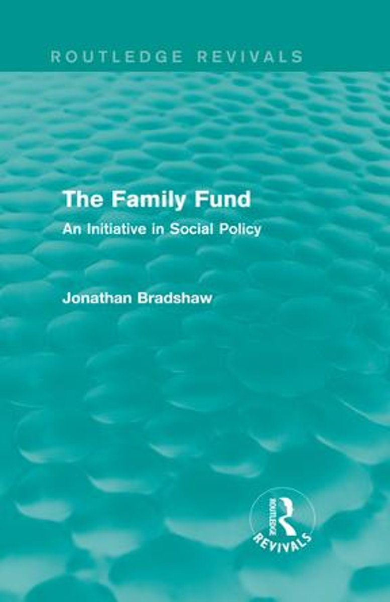 The Family Fund (Routledge Revivals)