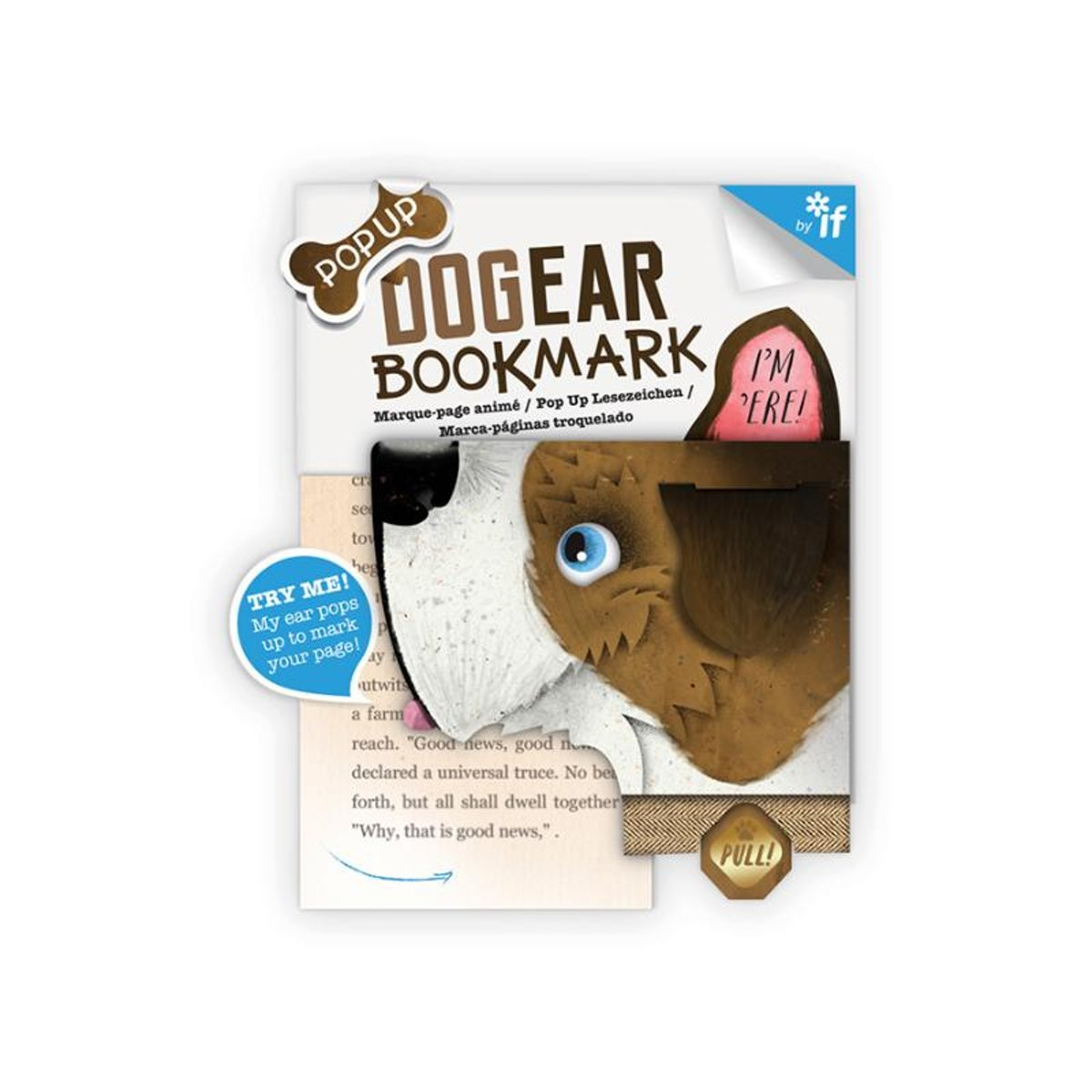 Dog Ear Bookmarks - Nipper (Terrier)