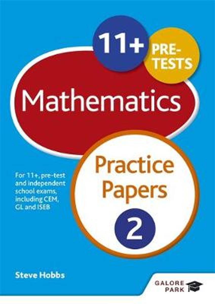 11+ Maths Practice Papers 2