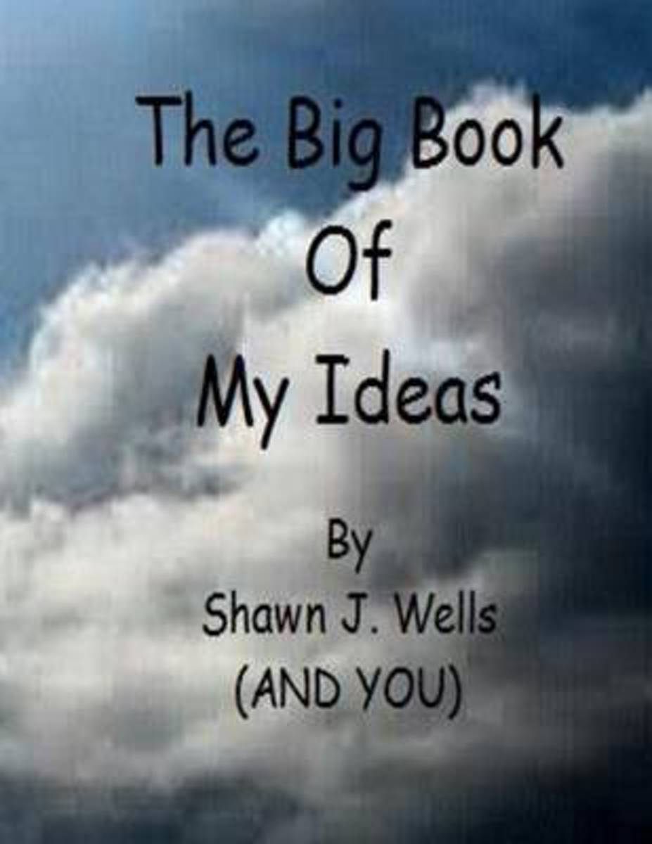 The Big Book of My Ideas