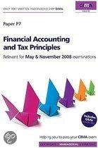 Cima Official Learning System Financial Accounting and Tax Principles