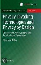 Privacy-Invading technologies and privacy by design
