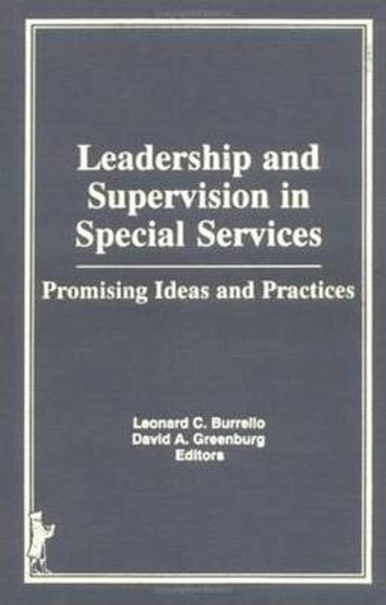 Leadership and Supervision in Special Services