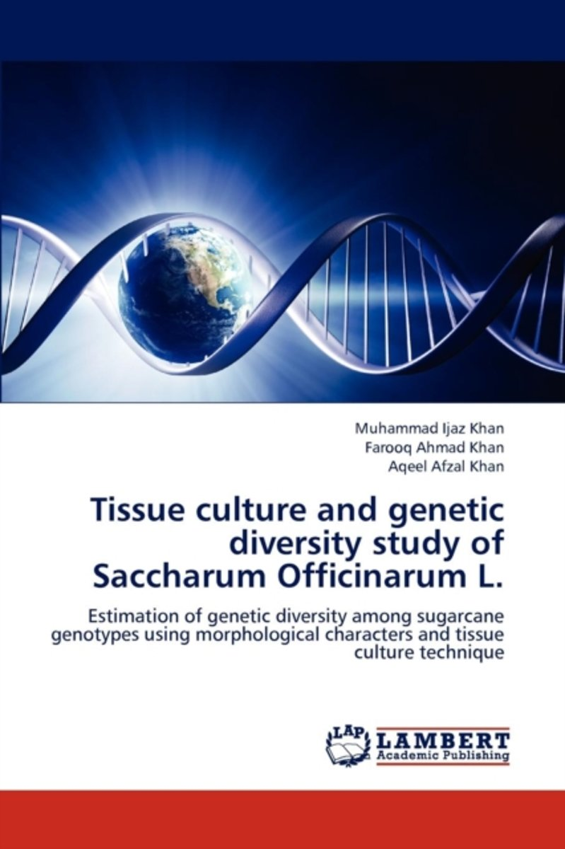 Tissue Culture and Genetic Diversity Study of Saccharum Officinarum L.