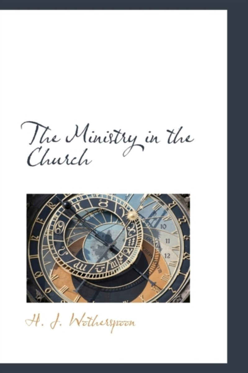 The Ministry in the Church