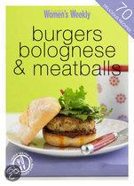 Burgers, Bolognese And Meatballs