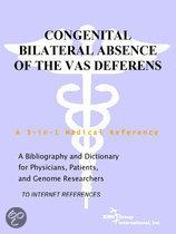 Congenital Bilateral Absence of the Vas Deferens - a Bibliography and Dictionary for Physicians, Patients, and Genome Researchers