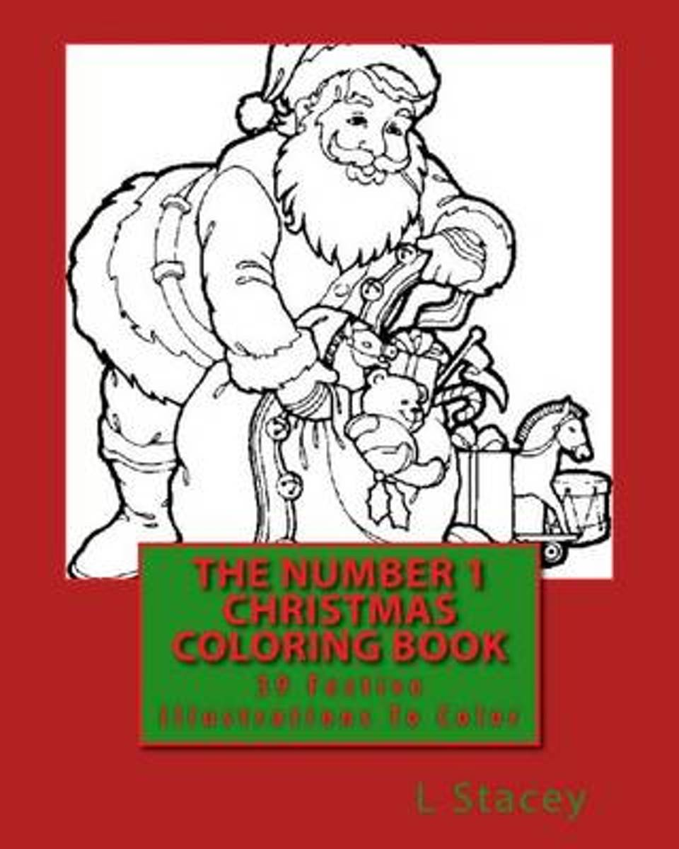 The Number 1 Christmas Coloring Book