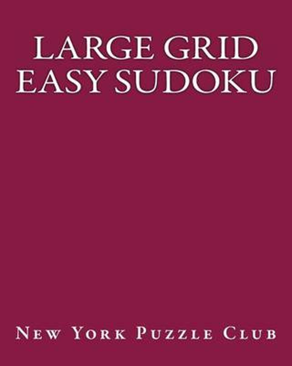 Large Grid Easy Sudoku