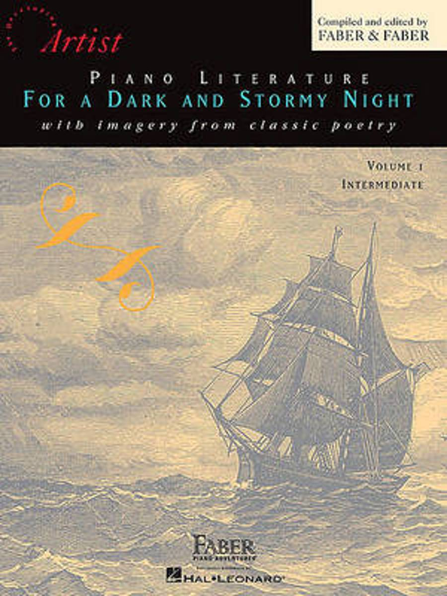 Piano Literature for a Dark and Stormy Night, Volume 1