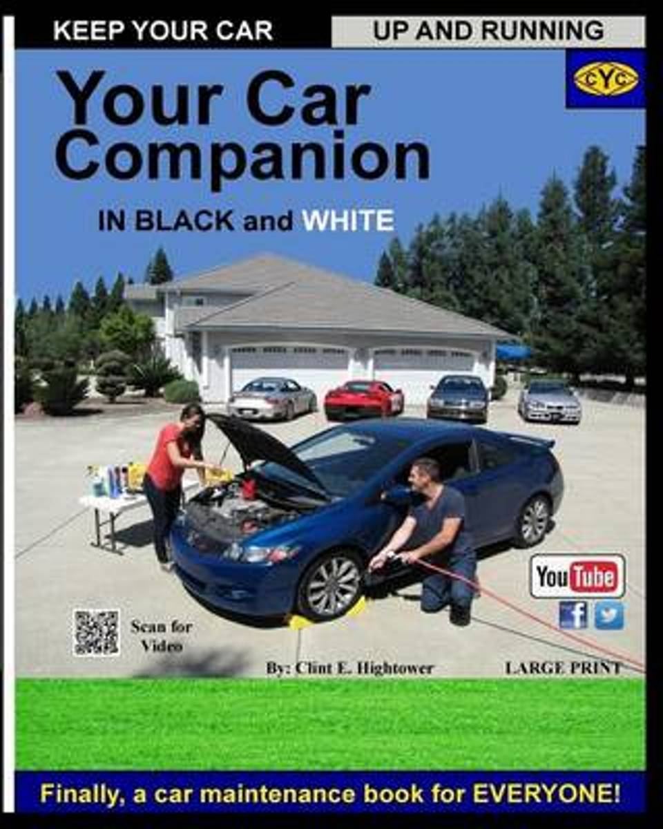 Your Car Care Companion Black and White