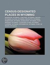 Census-designated places in Wyoming