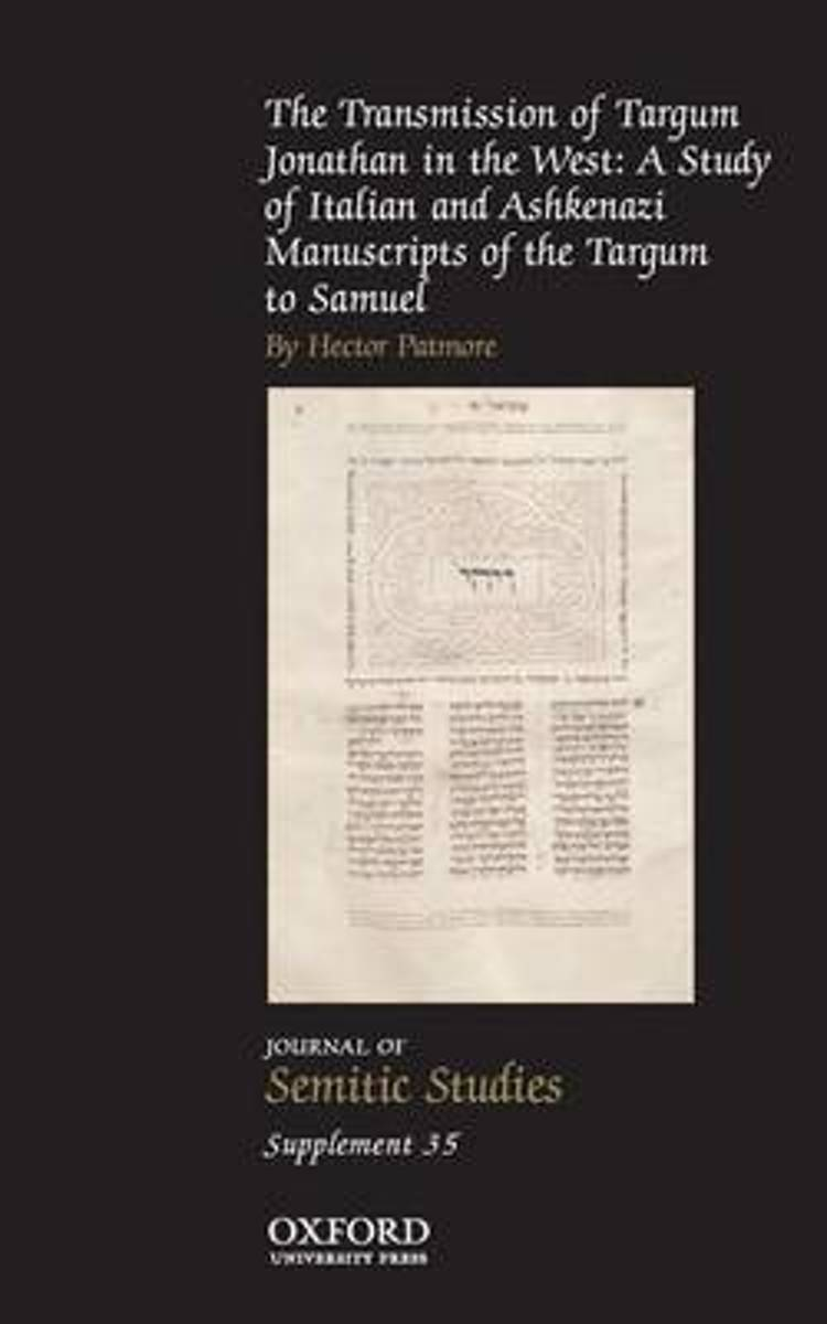 The Transmission of Targum Jonathan in the West