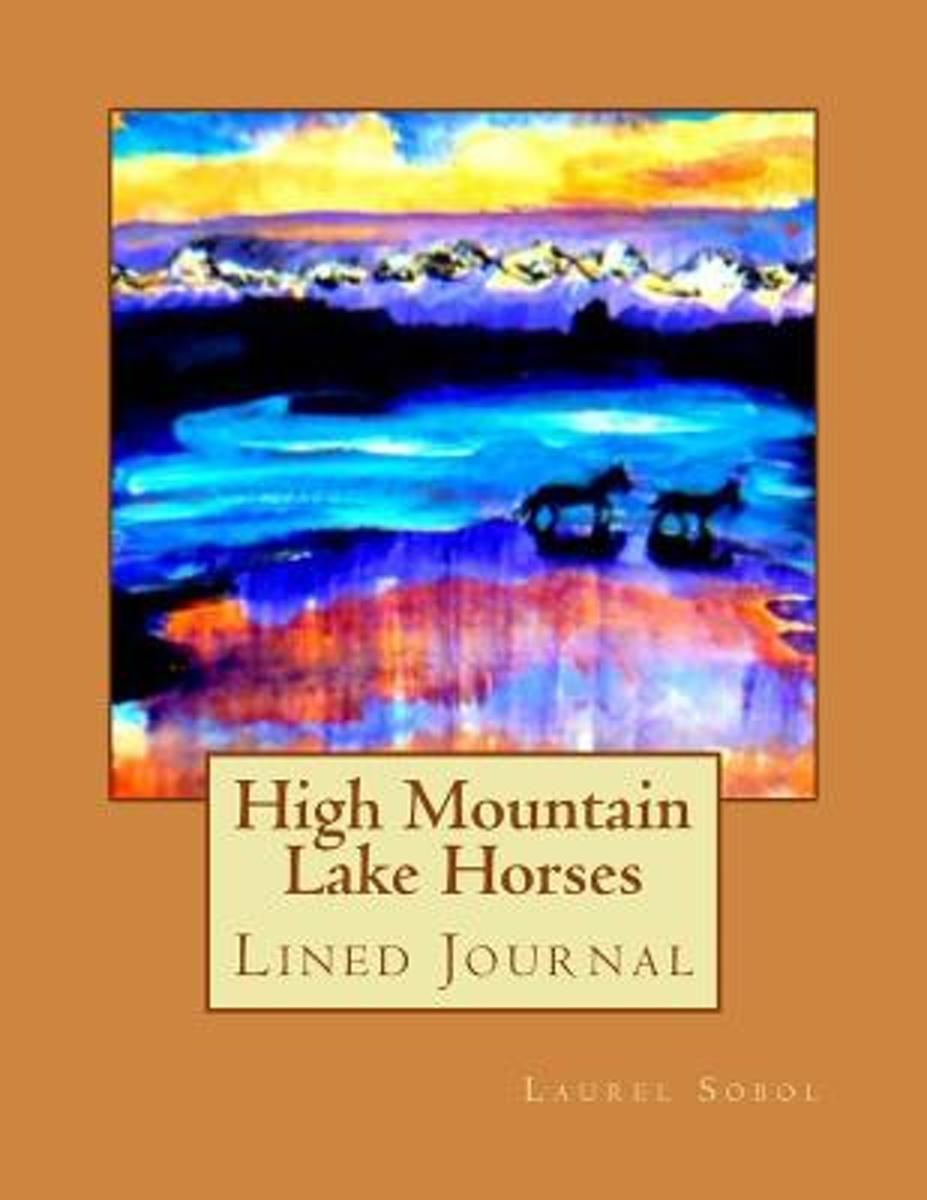 High Mountain Lake Horses