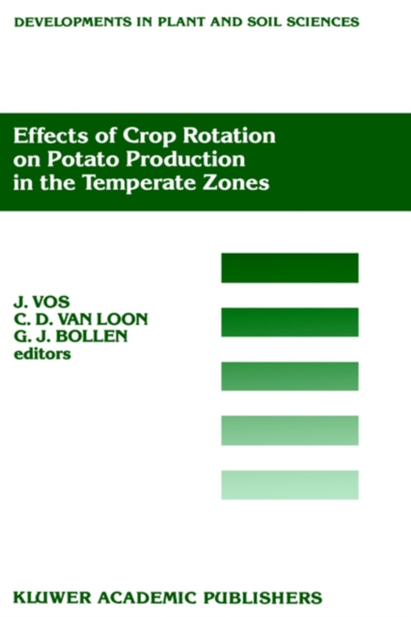 Effects of Crop Rotation on Potato Production in the Temperate Zones