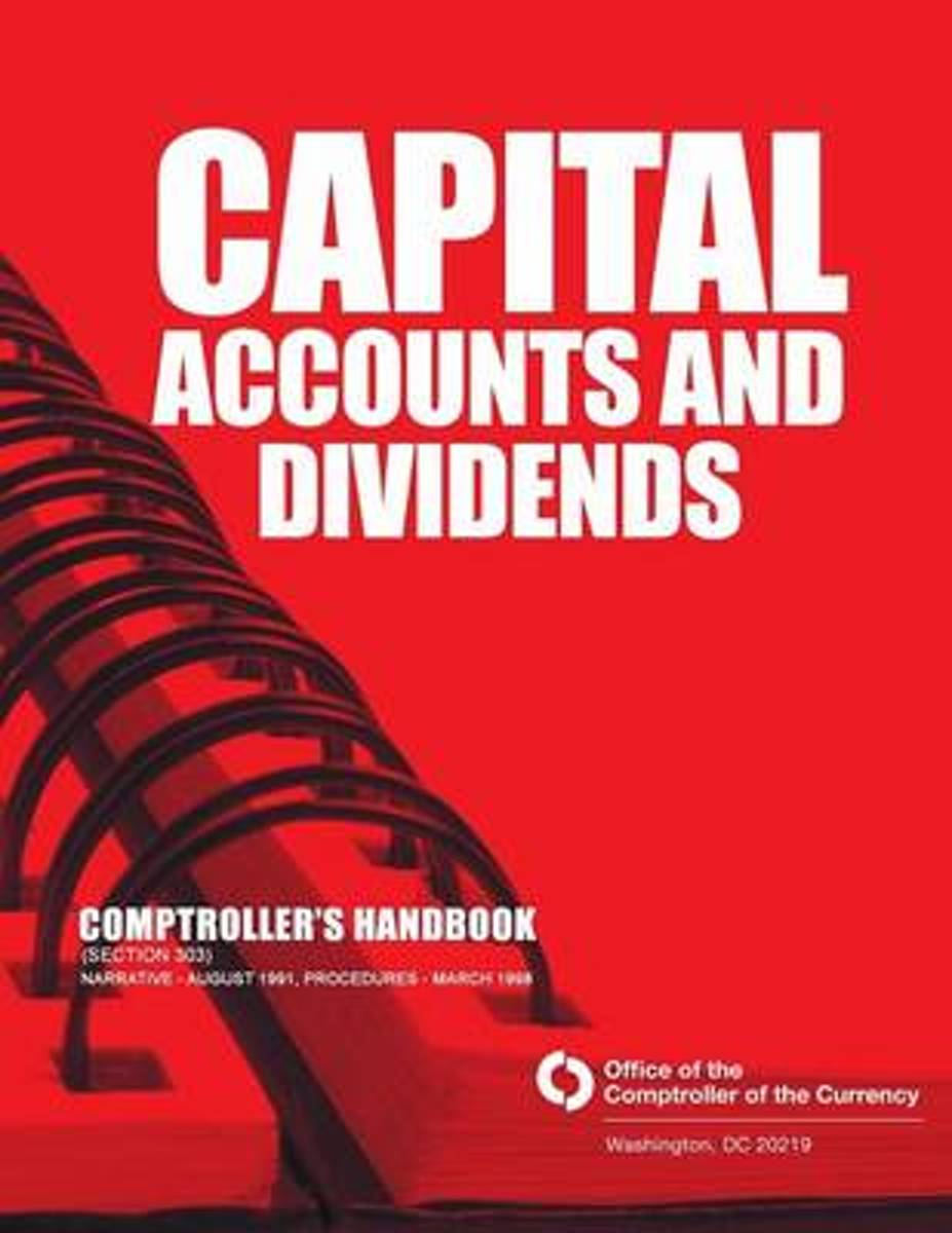 Capital Accounts and Dividends Comptrollers Handbook