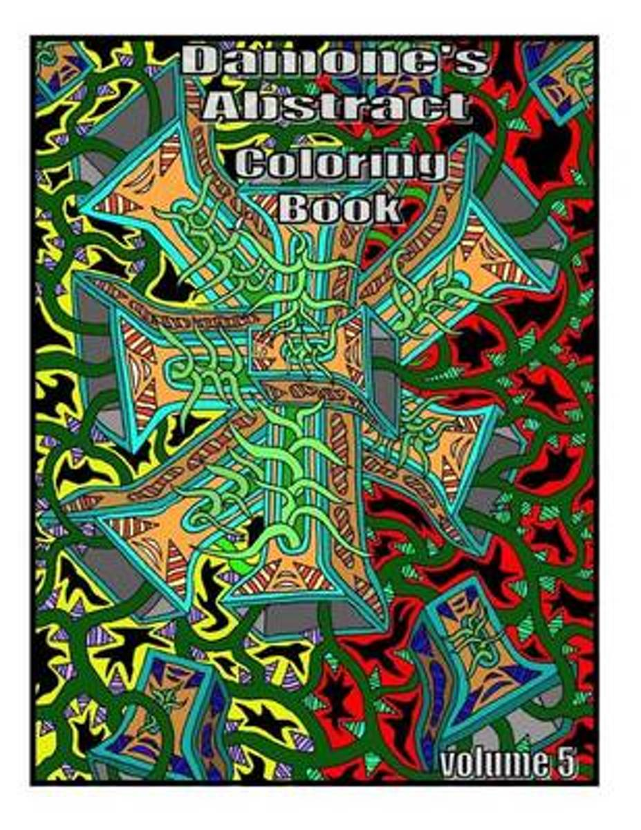 Damones Abstract Coloring Book 5