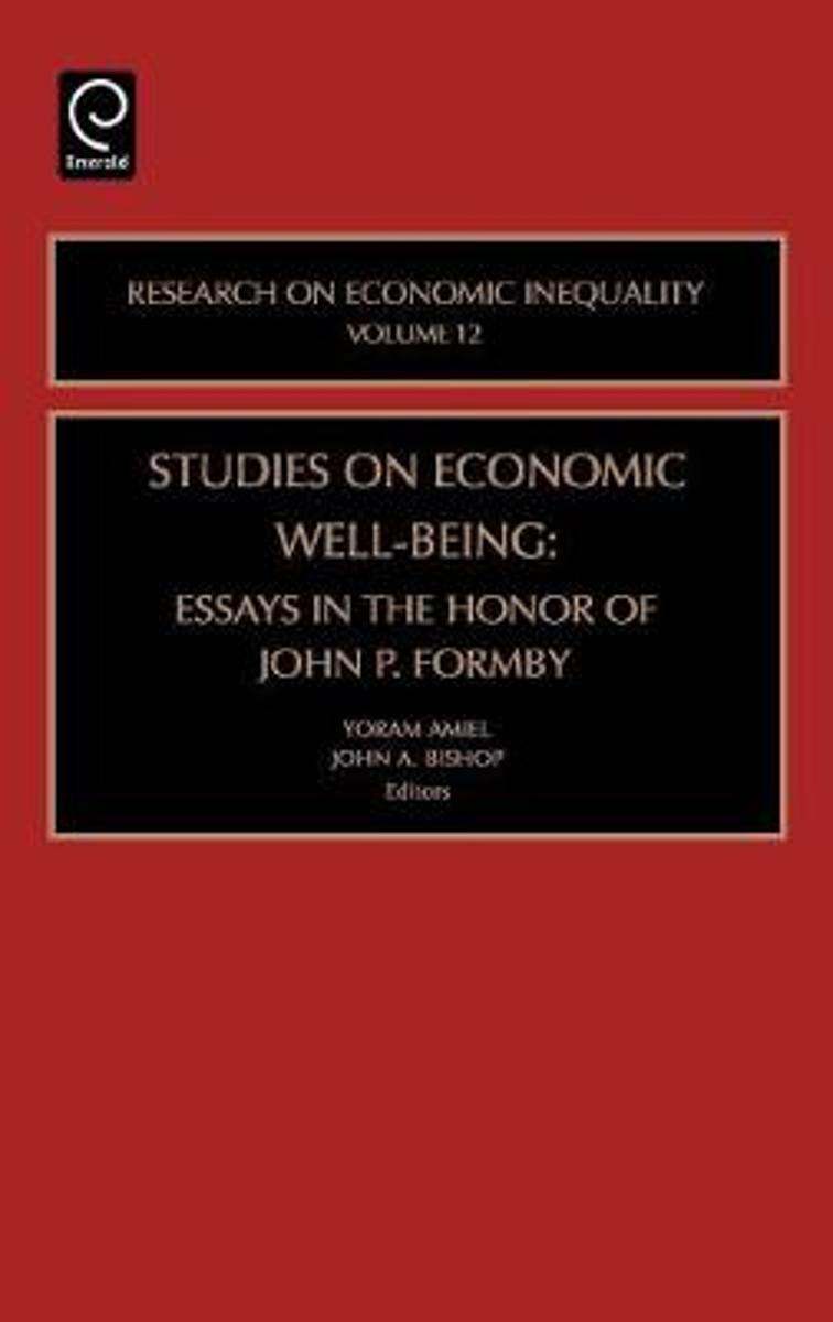 Studies on Economic Well Being