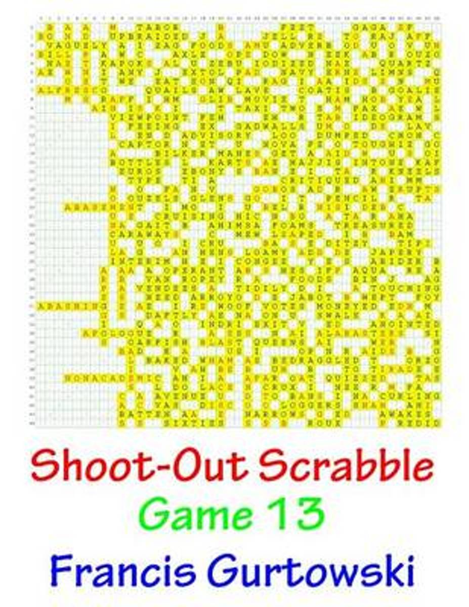 Shoot-Out Scrabble Game 13