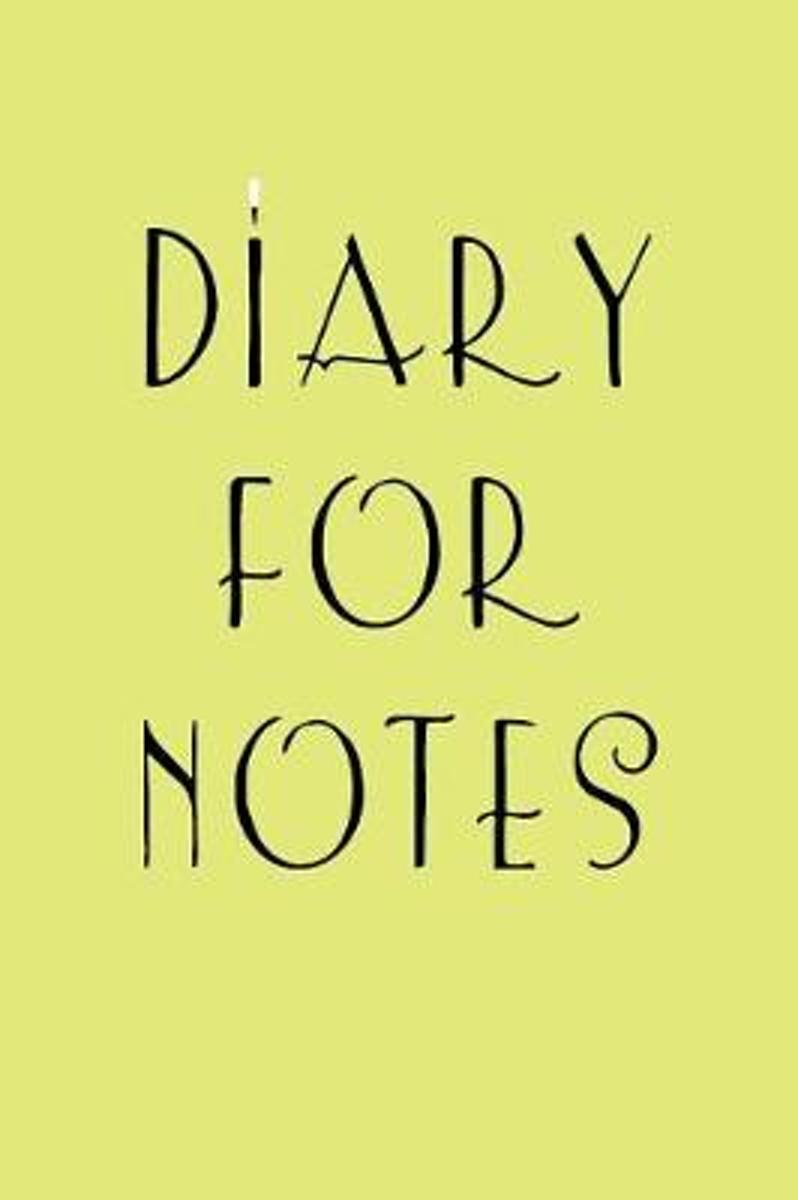 Diary for Notes
