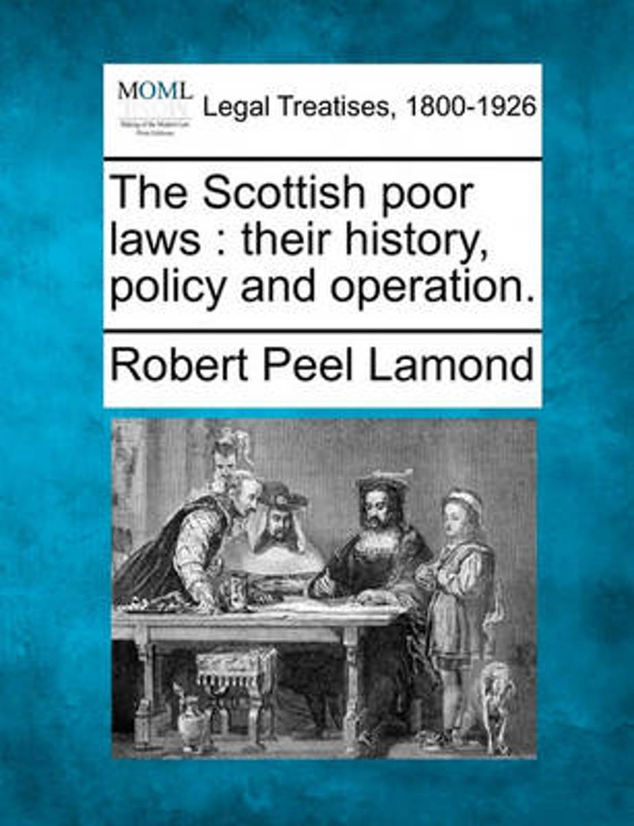 The Scottish Poor Laws