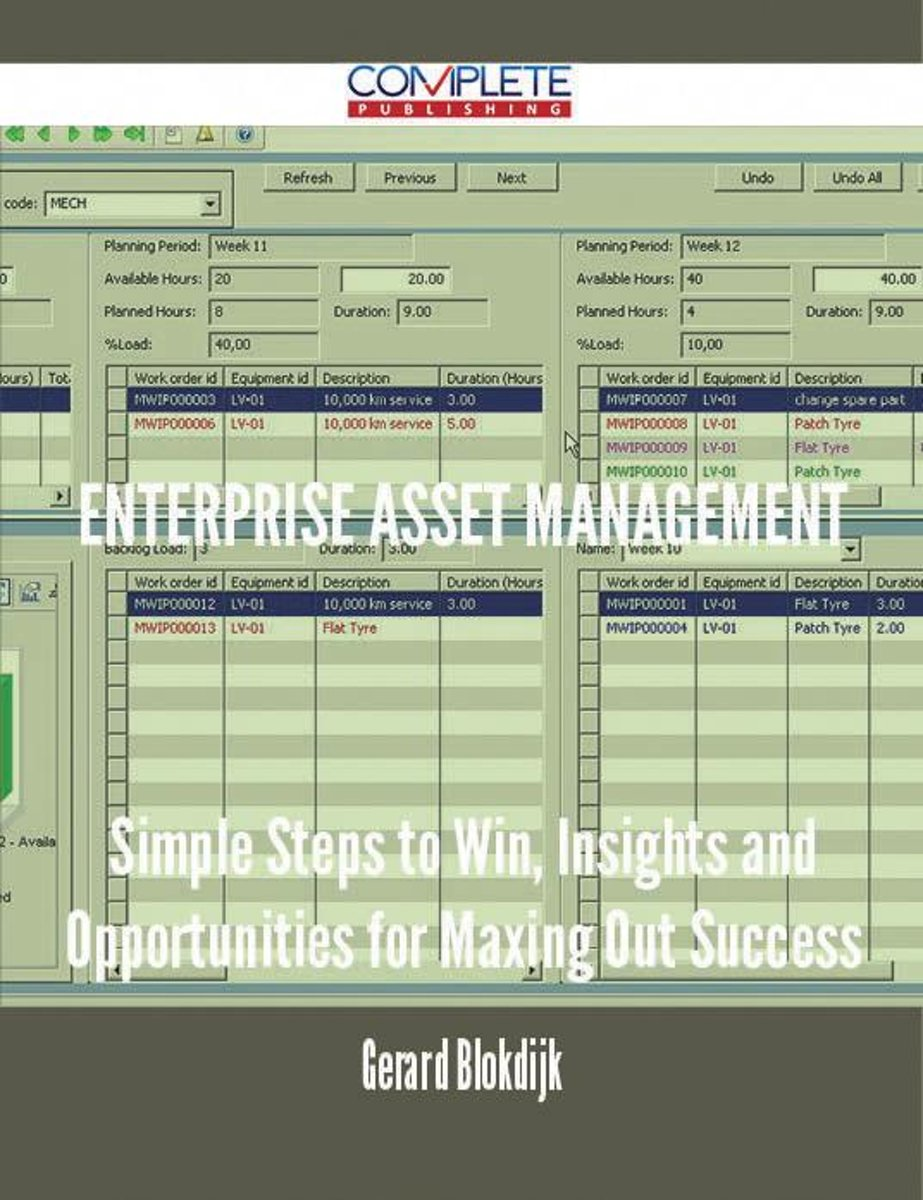 Enterprise Asset Management - Simple Steps to Win, Insights and Opportunities for Maxing Out Success
