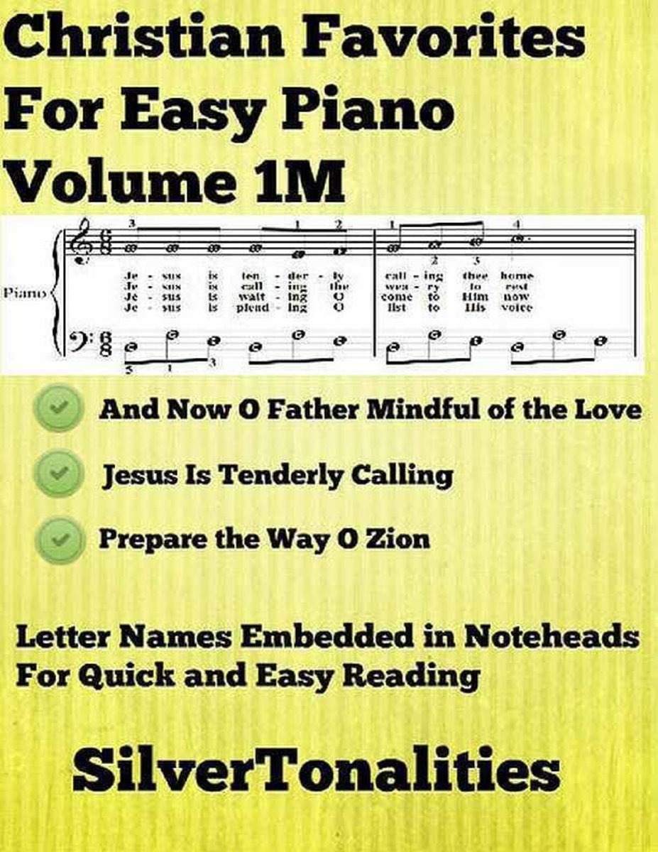 Christian Favorites for Easy Piano Volume 1 M