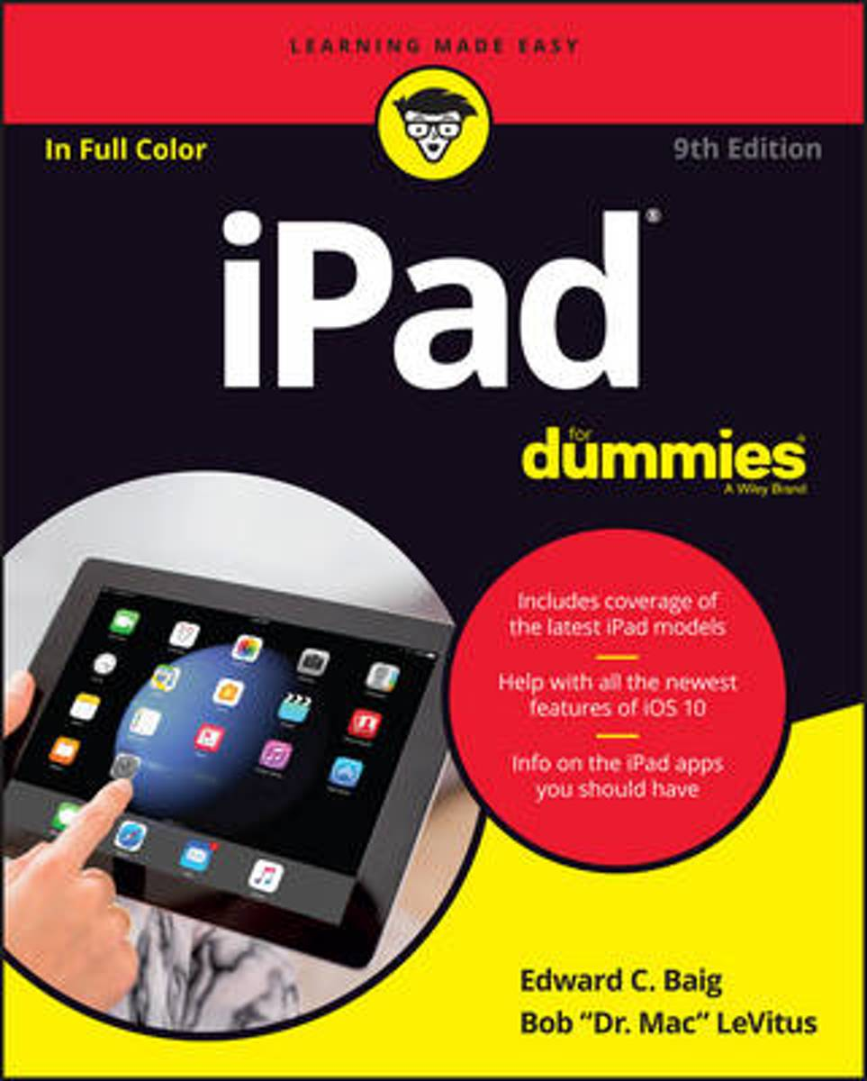 Ipad for Dummies, 9th Edition